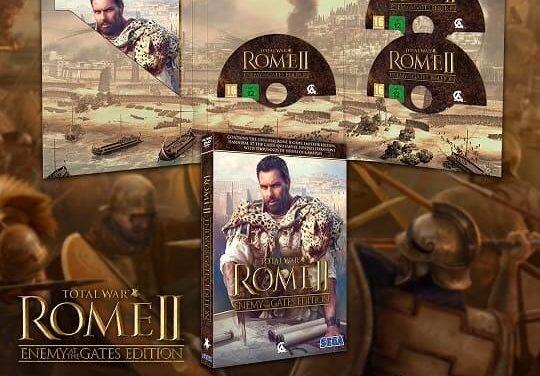 NP: El plan de SEGA para implementar cajas totalmente reciclables en su catálogo de PC comienza con Total War: ROME II – Enemy at the Gates Edition