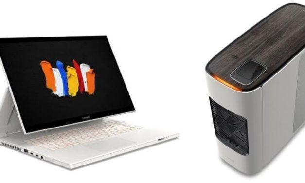 NP: Acer amplía su línea de ordenadores para creadores con su serie de equipos convertibles ConceptD 7 Ezel y la estación de trabajo ConceptD 700