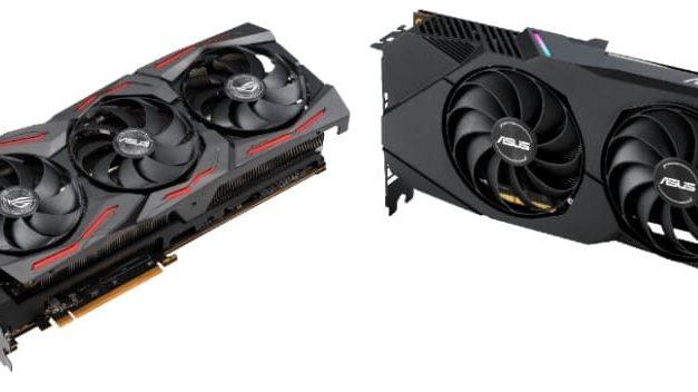 NP: ASUS anuncia las nuevas tarjetas gráficas ROG Strix, TUF Gaming X3 y Dual Radeon RX 5600 XT