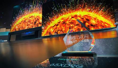 """NP: AVSForum premia la tecnología, el diseño y el desarrollo del ULED XDG9 de Hisense como """"Lo mejor de CES 2020"""""""