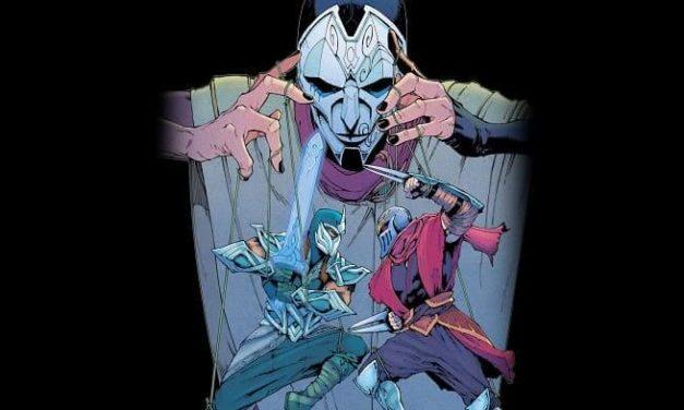 NP: Zed y Shen se encuentran en el tercer tomo del cómic ZED