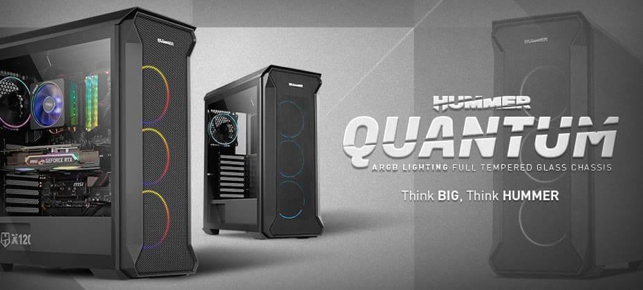 NP: Nox presenta Hummer Quantum: un robusto diseño para configuraciones de alto rendimiento