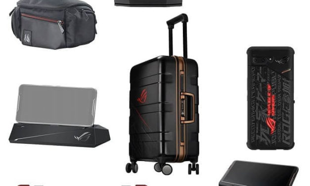 NP: ¡El juego está en marcha! La maleta Super Pack del ASUS  ROG Phone II ya está a la venta