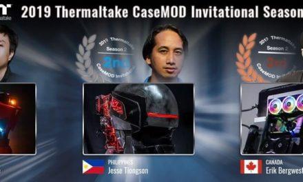 NP: Anuncio de los ganadores de la 2019 Thermaltake CaseMOD Invitational Season 2