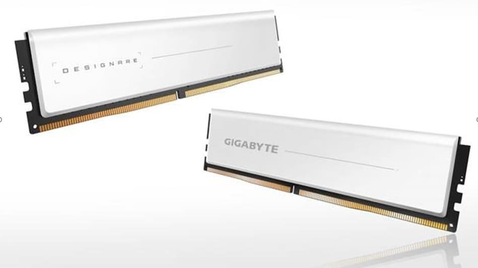 NP: GIGABYTE lanza la memoria DDR4 DESIGNARE enfocada en la creación de contenido
