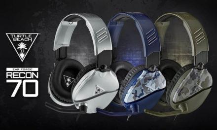 NP: Los auriculares de gaming más vendidos de Turtle Beach, Recon 70, estarán a la venta en plata y camuflaje verde o azul