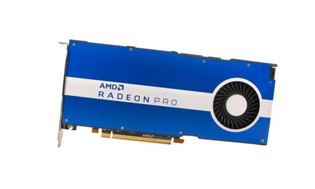NP: Presentamos la gráfica para workstation AMD Radeon Pro W5500: Tecnología innovadora para los profesionales del diseño e ingeniería modernos