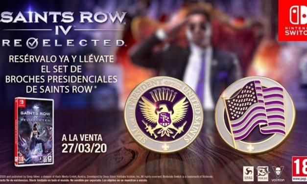 NP: Anunciado Saints Row: IV – Re-Elected para Switch – Campaña de reserva