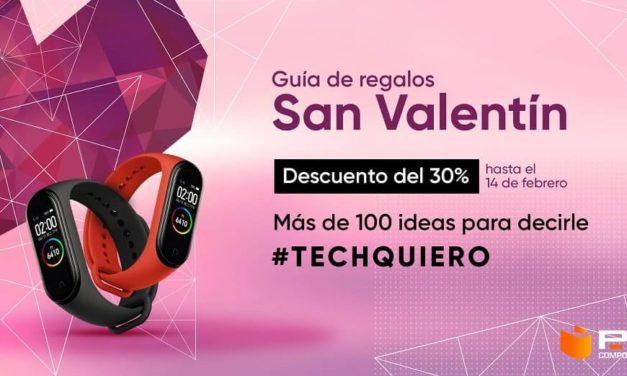 NP: PcComponentes lanza más de 100 ideas de regalo para decir #TechQuiero en San Valentín