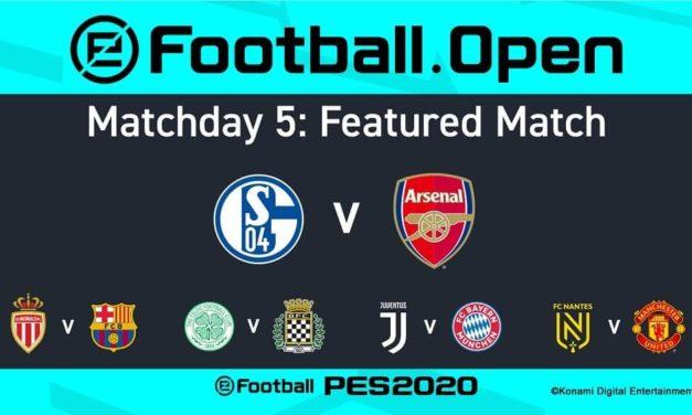 NP: Konami anuncia la agenda de retransmisión de eFootball.Pro Matchday 5
