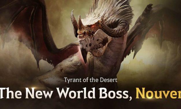 NP: ¡Nouver: un nuevo Jefe de Mundo llega a Black Desert Mobile!