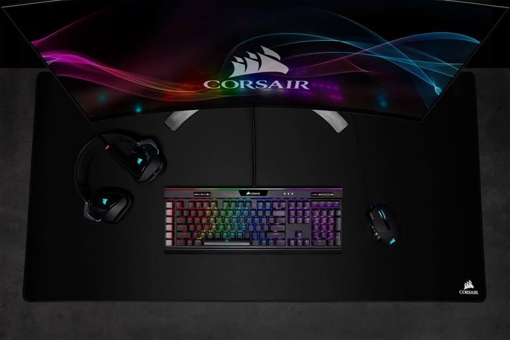 NP: CORSAIR lanza el ratón para juegos MOBA/MMO SCIMITAR RGB ELITE y la alfombrilla MM500 3XL