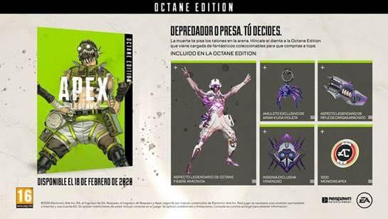 NP: ¿Depredador o presa? Llega la Octane Edition a la arena de Apex Legends