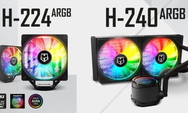 NP: Nox presenta H-224 ARGB y H-240 ARGB