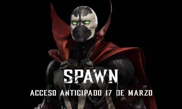 NP: Tráiler gameplay de Spawn en MK11