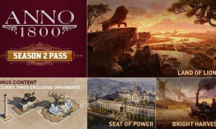 NP: Ubisoft anuncia el Season 2 Pass de Anno 1800, y el lanzamiento del primer contenido descargable el 24 de marzo