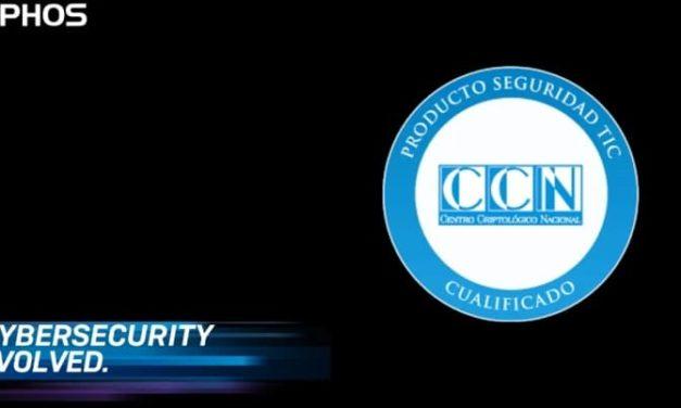 NP: Sophos obtiene la certificación LINCE del Centro Criptológico Nacional