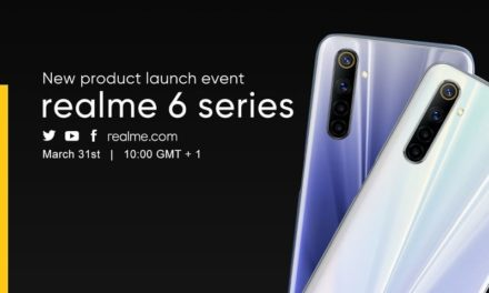 NP: realme 6 será presentado el 31 de marzo en el primer evento realizado a través de videollamada