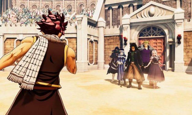 NP: El hombre más fuerte del gremio se une a Fairy Tail – Tráiler historia