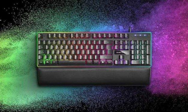 NP: MK320 teclado RGB definitivo