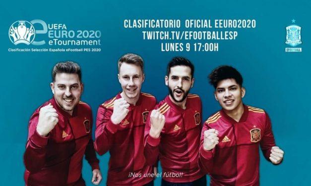 NP: Comienza la fase de clasificación de grupos online de la UEFA eEURO 2020 con el primer partido España VS. Albania
