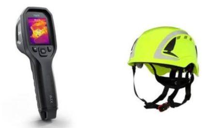 NP: RS Components presenta una nueva cámara termográfica de la marca FLIR y dos series de cascos de seguridad fabricados por 3M