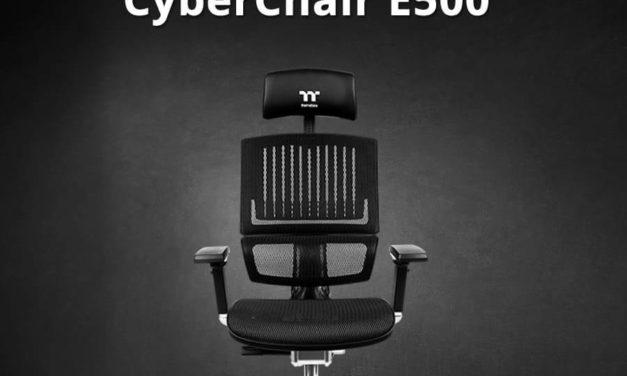 NP: La nueva Thermaltake CyberChair E500