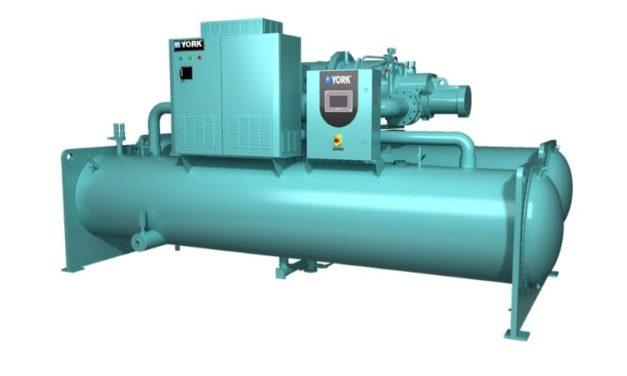 NP: YORK YVWH: nueva enfriadora de tornillo condensada por agua con refrigerante de bajo PCA