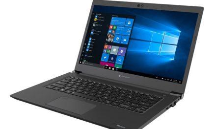 NP: Dynabook amplía su gama media con un portátil ligero con procesador Intel de 10ª generación y 13 horas de autonomía