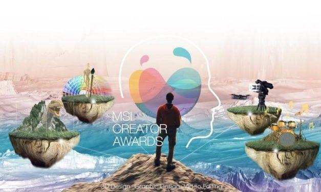 NP: MSI Creator Awards 2020 ya está aquí ¡Muestra tu creativdad!