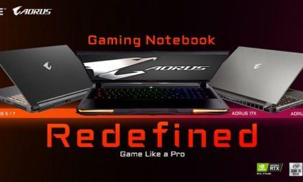 NP: GIGABYTE presenta los nuevos modelos de portátiles gaming AORUS y de equipos para creadores AERO