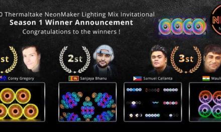NP: Se anuncian los ganadores de 2020 Thermaltake Neonmaker Lighting Mix Invitational Season 1