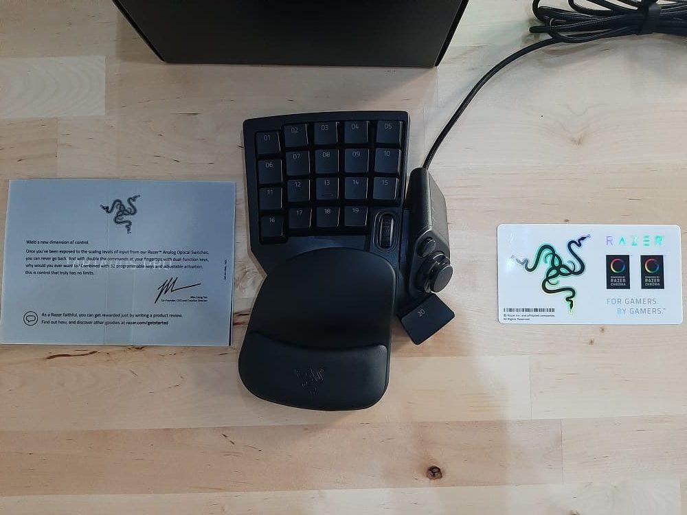 Analizamos el keypad Razer Tartarus Pro