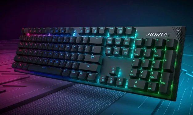 NP: GIGABYTE lanza el teclado mecánico para juegos AORUS K1