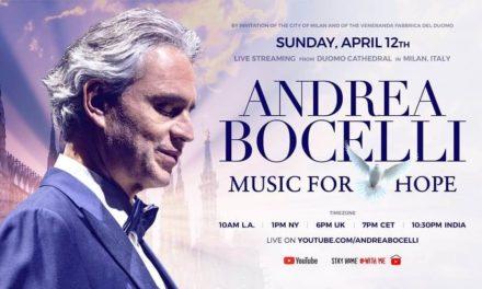 NP: Andrea Bocelli actuará en el Duomo de Milán a través de YouTube el Domingo de Pascua