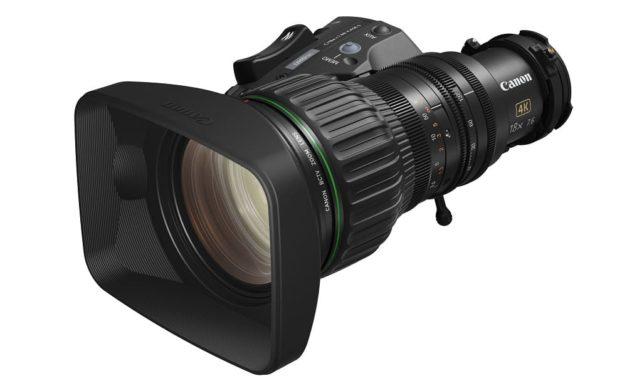 NP: Facilidad de uso, excelente calidad de imagen – El CJ18ex7.6B KASE, de Canon, es el objetivo compacto perfecto para producciones de estudio de broadcast