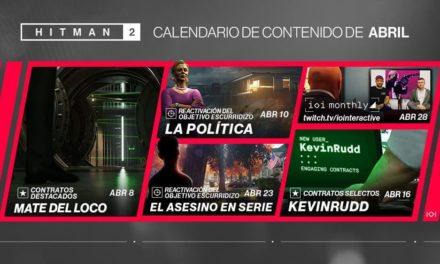 NP: Objetivos escurridizos, misiones y eventos en el nuevo roadmap de HITMAN 2