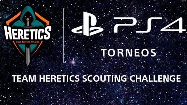 NP: PlayStation y Team Heretics presentan el Team Heretics Scouting Challenge
