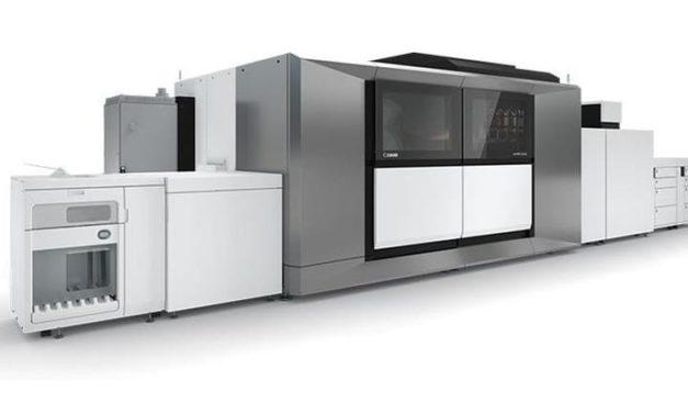 NP: La nueva prensa varioPRINT serie iX de hojas sueltas de Canon ofrece calidad offset, flexibilidad digital y productividad de inyección de tinta