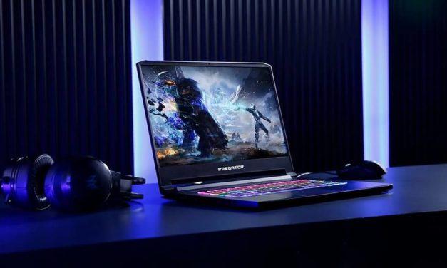 NP: Acer presenta los nuevos portátiles gaming Predator Triton 500 y Nitro 5 con los más recientes procesadores de 10ª Gen Intel Core