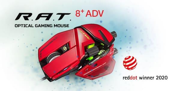 NP: Mad Catz R.A.T.8+ ADV gana el Red Dot por su excelente calidad de diseño