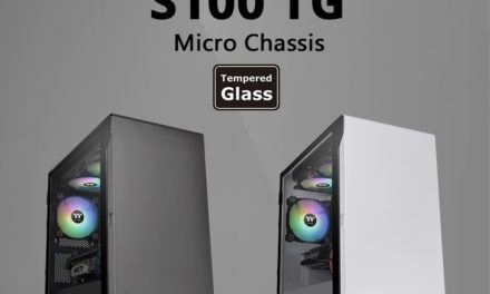 NP: Thermaltake S100 TG Micro Chassis