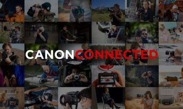 NP: Canon lanza Canon Connected, un hub de contenidos de acceso gratuito con vídeos educativos e inspiradores para los entusiastas de la fotografía