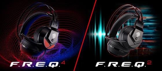 NP: La nueva gama de auriculares gaming F.R.E.Q. de Mad Catz ofrece un audio de calidad profesional para los juegos