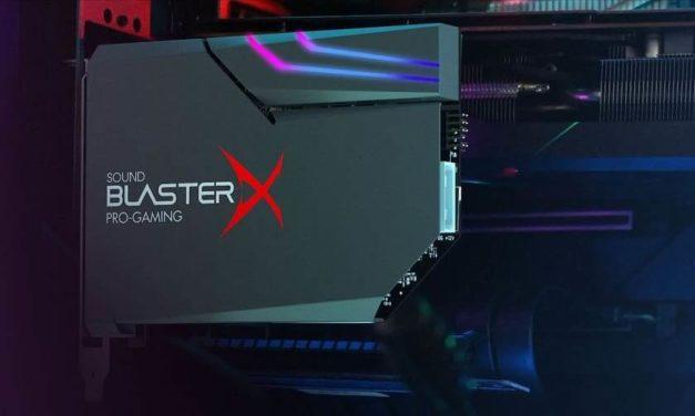 NP: Sound BlasterX AE-5 Plus: La mejor tarjeta de sonido gaming del mundo