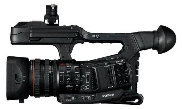 Canon mejora las capacidades de la XF705 mediante una actualización gratuita del firmware