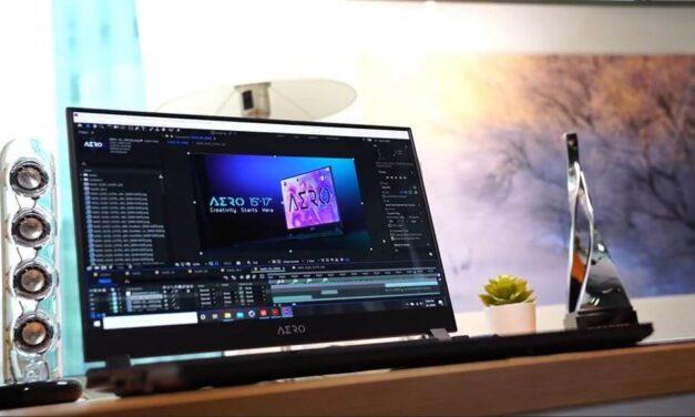 Equipos AERO de GIGABYTE para edición de video profesional
