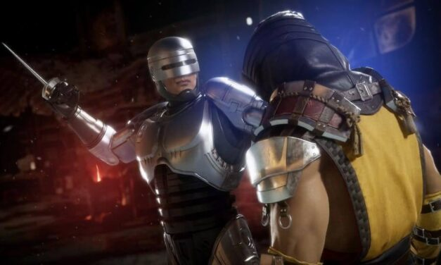 RoboCop vs Terminator en Mortal Kombat 11: Aftermath