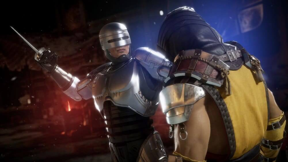 RoboCop vs Terminator en Mortal Kombat 11: Aftermath