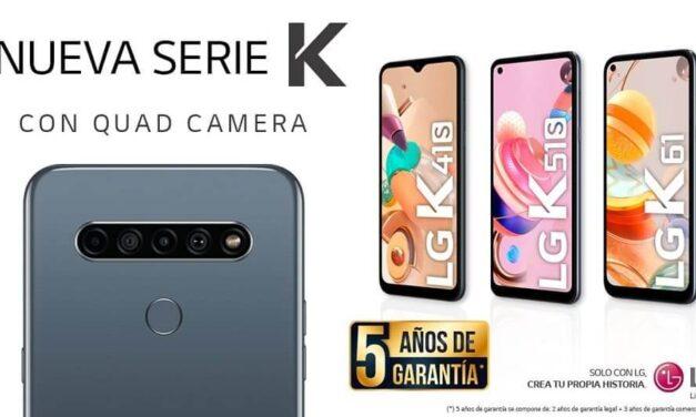 LG presenta su renovada Serie K: Cuatro cámaras e Inteligencia Artificial para crear el mejor contenido